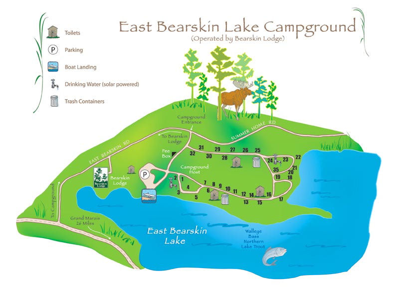 East Bearskin Lake National Forest Service Campground